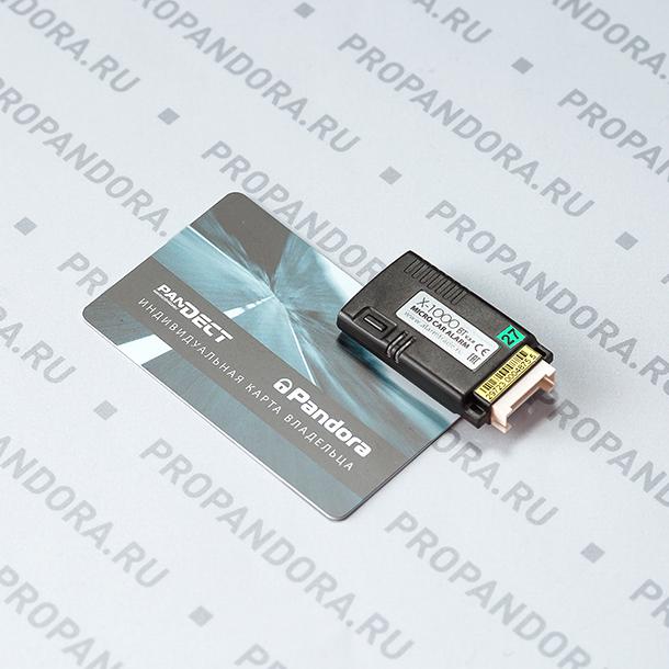 Прочее: Основной блок X-1000BT с карточкой master-PIN